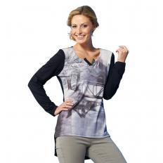 Jersey-Shirt mit Fotoprint