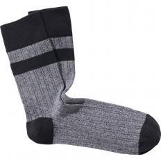 Atmungsaktive Mouliné-Socken 5 Paar