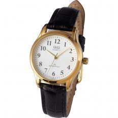 "Vergoldete Armbanduhr ""Q&Q"""