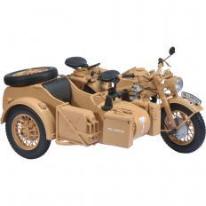 """Zündapp KS 750 mit Beiwagen """"Afrika Corps"""""""