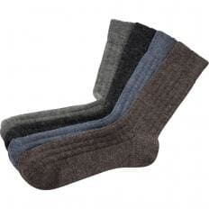 Socken mit Alpaka - 4er Pack