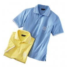 Baumwoll-Piqué-Shirts im 2er-Pack