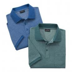 Poloshirts im 2er-Pack