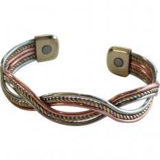 Tricolor-Magnetarmband