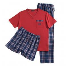 3-teiliger Schlafanzug