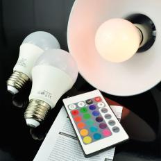 LED-Leuchtmittelset mit Farbwechsel 3er-Set