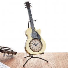 Gitarren-Tischuhr