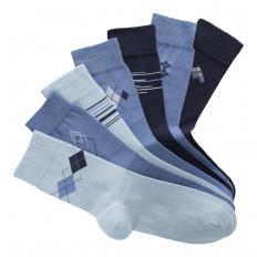 Stretch-Baumwoll-Socken 7 Paar