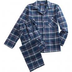 Baumwollflanell-Pyjama