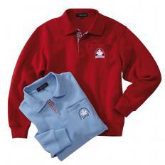 Thermo-Sweater mit Kontrasten