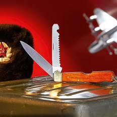 Messer der sowjetischen Piloten