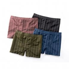 """Nahtlos"" Retro-Pants 4er-Pack"