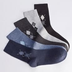 Komfort-Socken 5 Paar