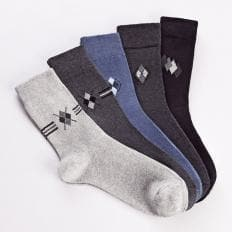 Komfort-Stretch-Socken 5 Paar