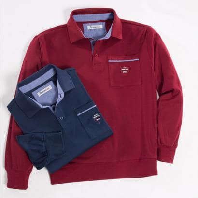 Interlock-Langarmshirt 2er Set-1