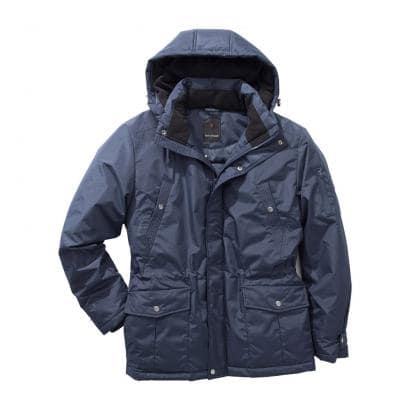 Jacke mit abnehmbarer Kapuze-1