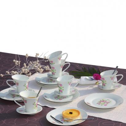 kaffee service rose kaffee service rose g nstig kaufen im online shop vom versandhaus eurotops. Black Bedroom Furniture Sets. Home Design Ideas