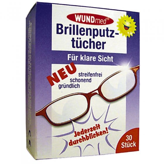 Brillenputztücher 30 Stück
