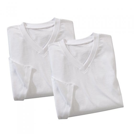 """T-Shirts Marke """"Hanes"""" - 2er Set"""