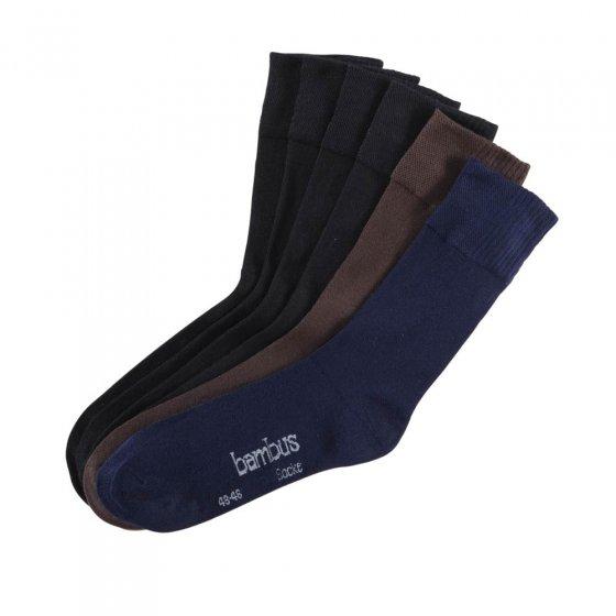 Atmungsaktive Socken - 6 Paar