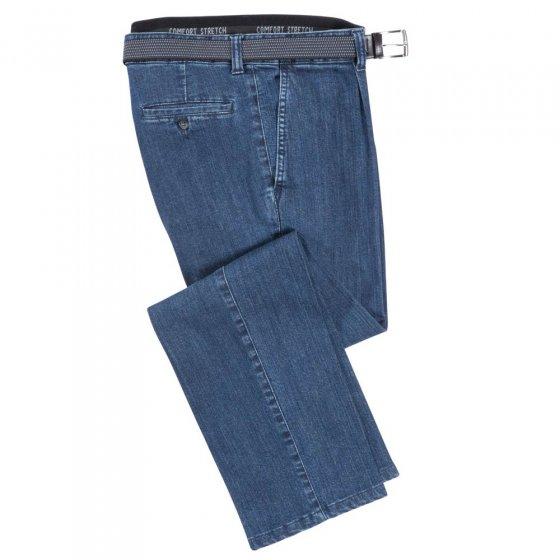 Bundfalten-Jeans