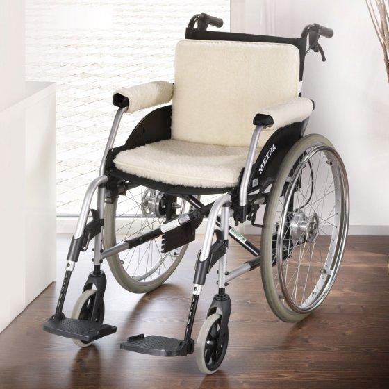 Schurwoll-Rollstuhlset