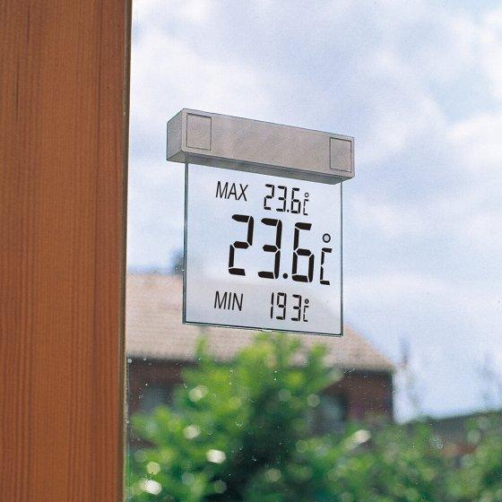 Digitales Fenster- Außenthermometer