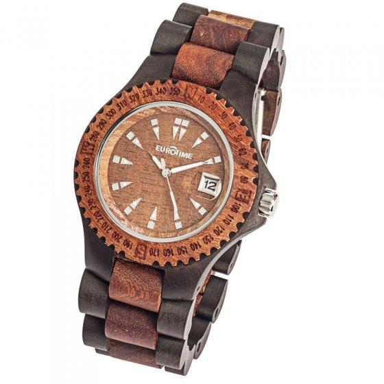 Armbanduhr aus Sandelholz