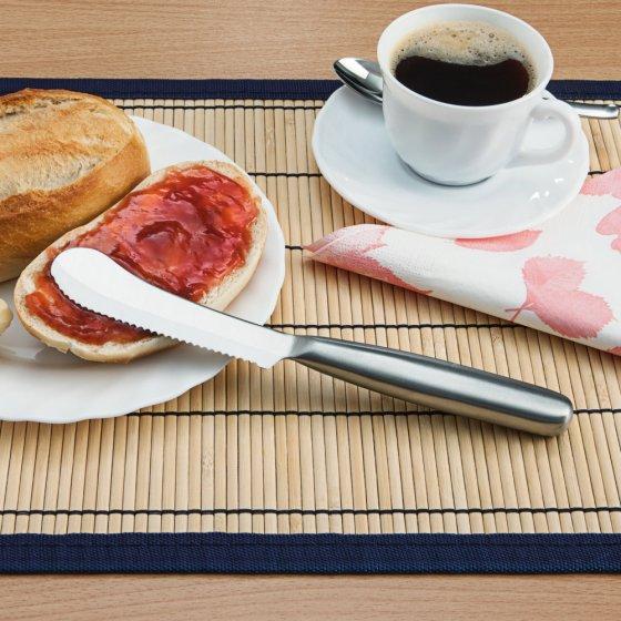 Frühstücksmesser mit Wellenschliff