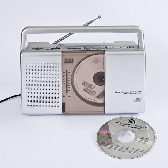 Tragbares CD-Radio