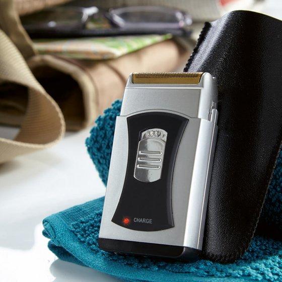Aufladbarer Pocketrasierer