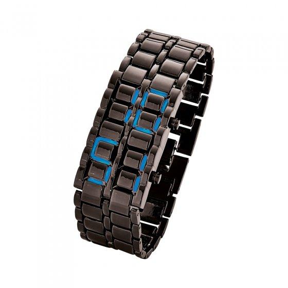 """Die """"verborgene"""" schwarze Armbanduhr"""