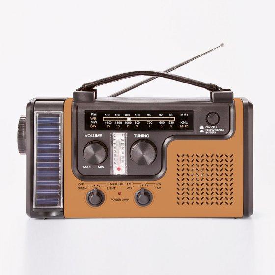"""Multifunktions-Radio """"Vintage Gold"""""""