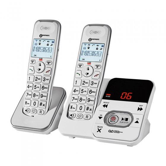 """Schnurloses Großtasten-Telefon """"DUO"""""""