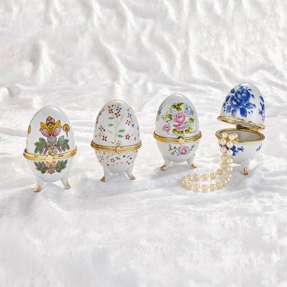 Porzellan-Eier 4er-Set