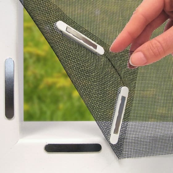 Magnetischer Fenster-Insektenschutz