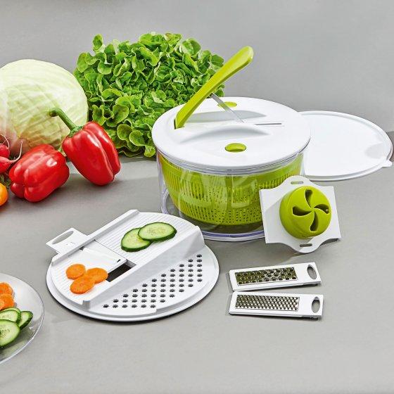 Luxus-Salat-Set 9-tlg. Set