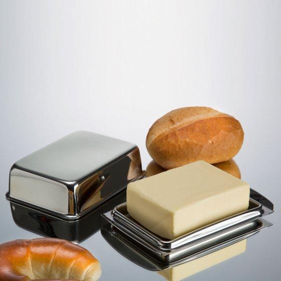 Edelstahl-Butterdose