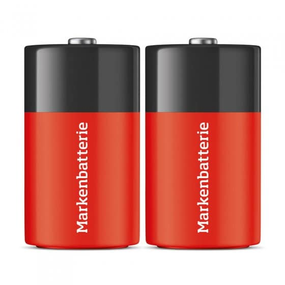 Mono-Batterien (D)  2er Set