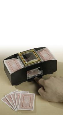 Elektrischer Kartenmischer