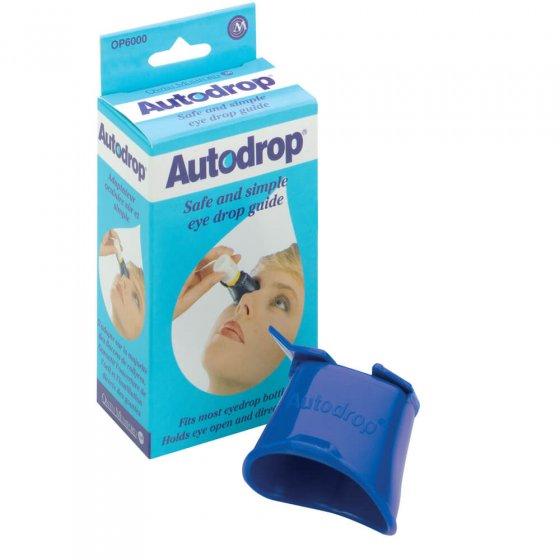 Augentropfen-Anwendungshilfe