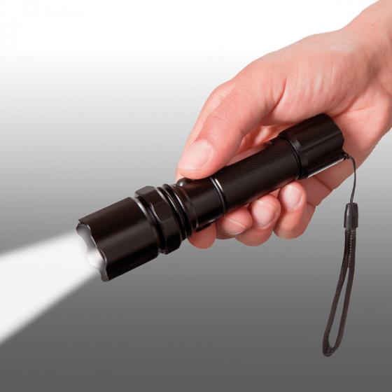 Wiederaufladbare LED-Taschenlampe