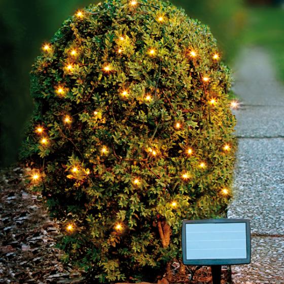 LED-Solarlichterkette