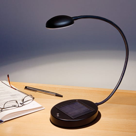 Solar-Schreibtischleuchte