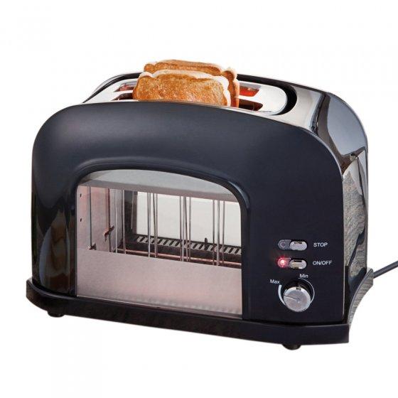 Transparenter Toaster