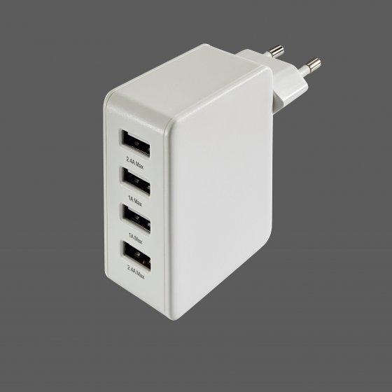 4fach-USB-Ladegerät