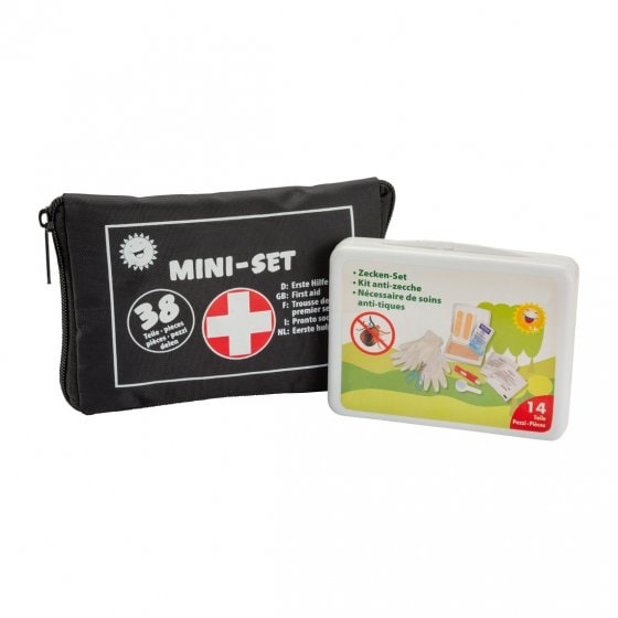 Erste-Hilfe- und Zecken-Set 52.tlg