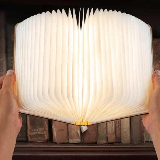 Faltbare LED-Buchleuchte