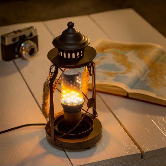 "LED-Glühlampe ""Flamme"""
