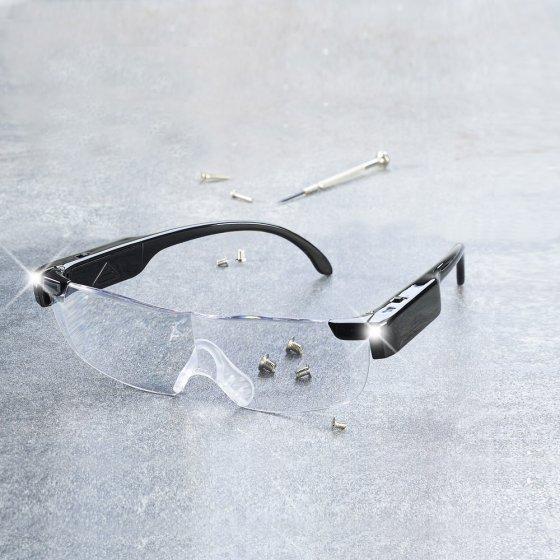 Vergrößerungsbrille mit Licht